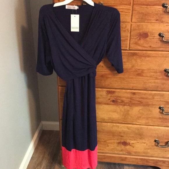 b91a72ec426e2 Latched Mama Dresses | Wrap Dress | Poshmark